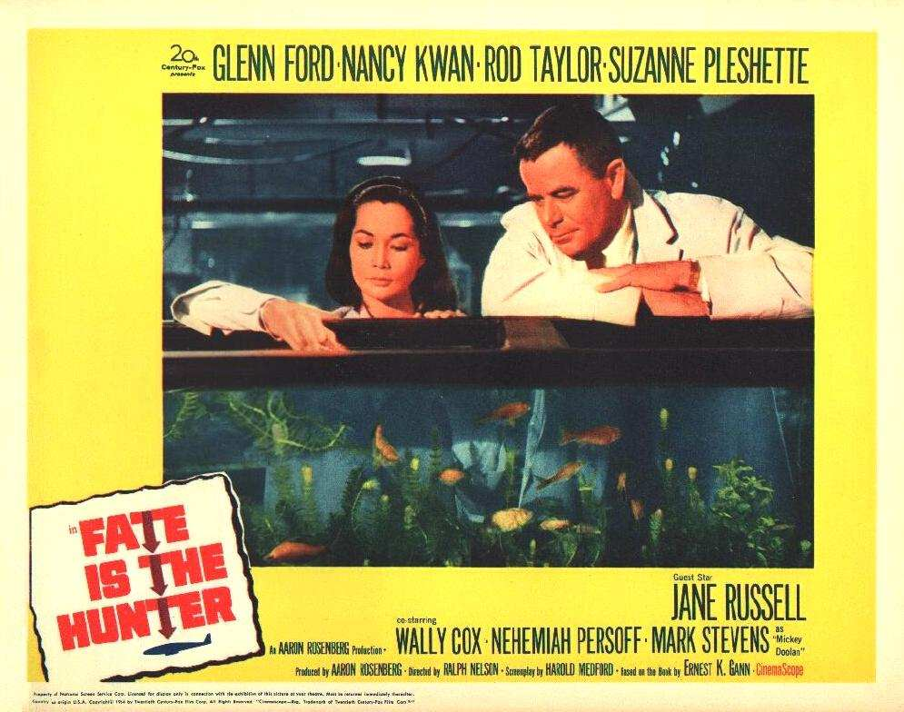 NANCY KWAN. FATE IS THE HUNTER