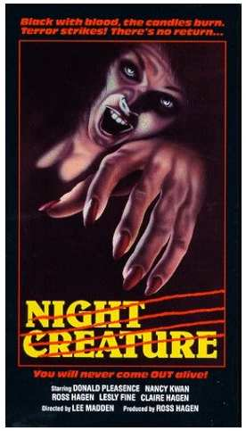 NIGHT CREATURE 1979